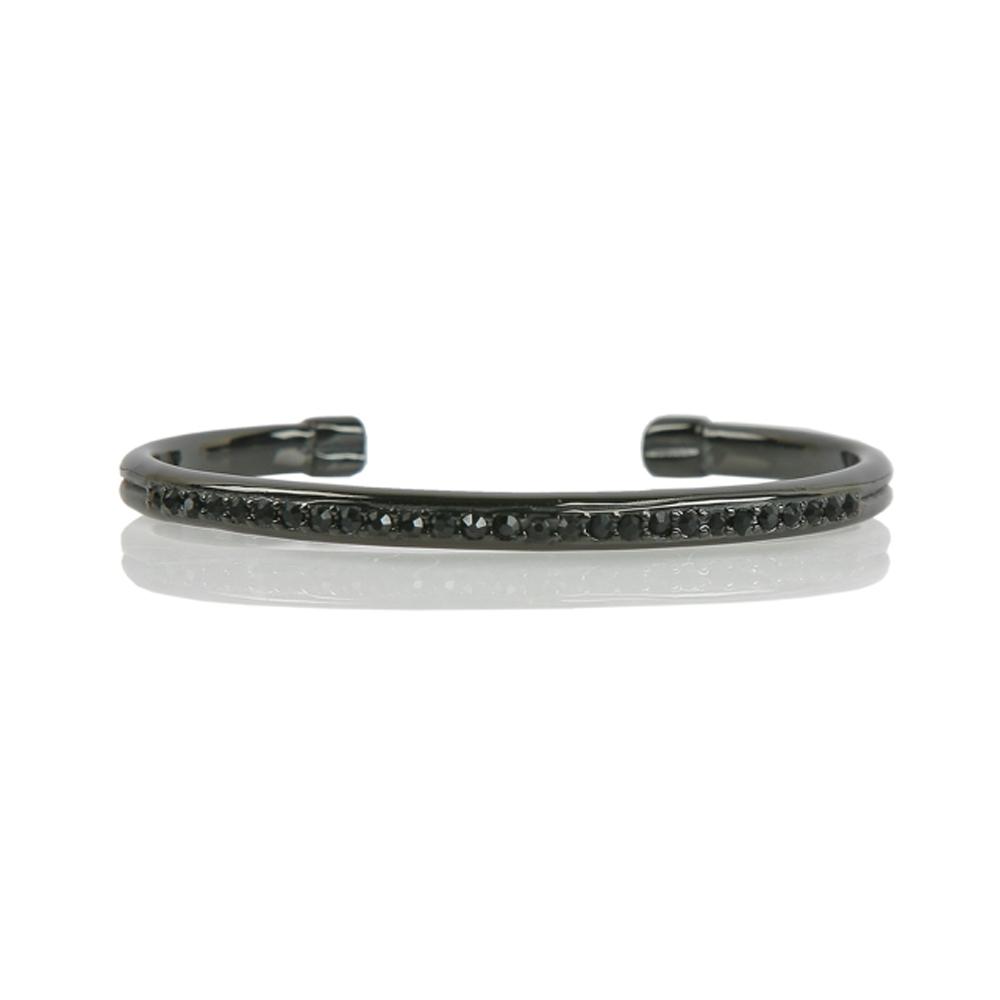 Black Ankara Stainless Steel Bracelet - Buttigo