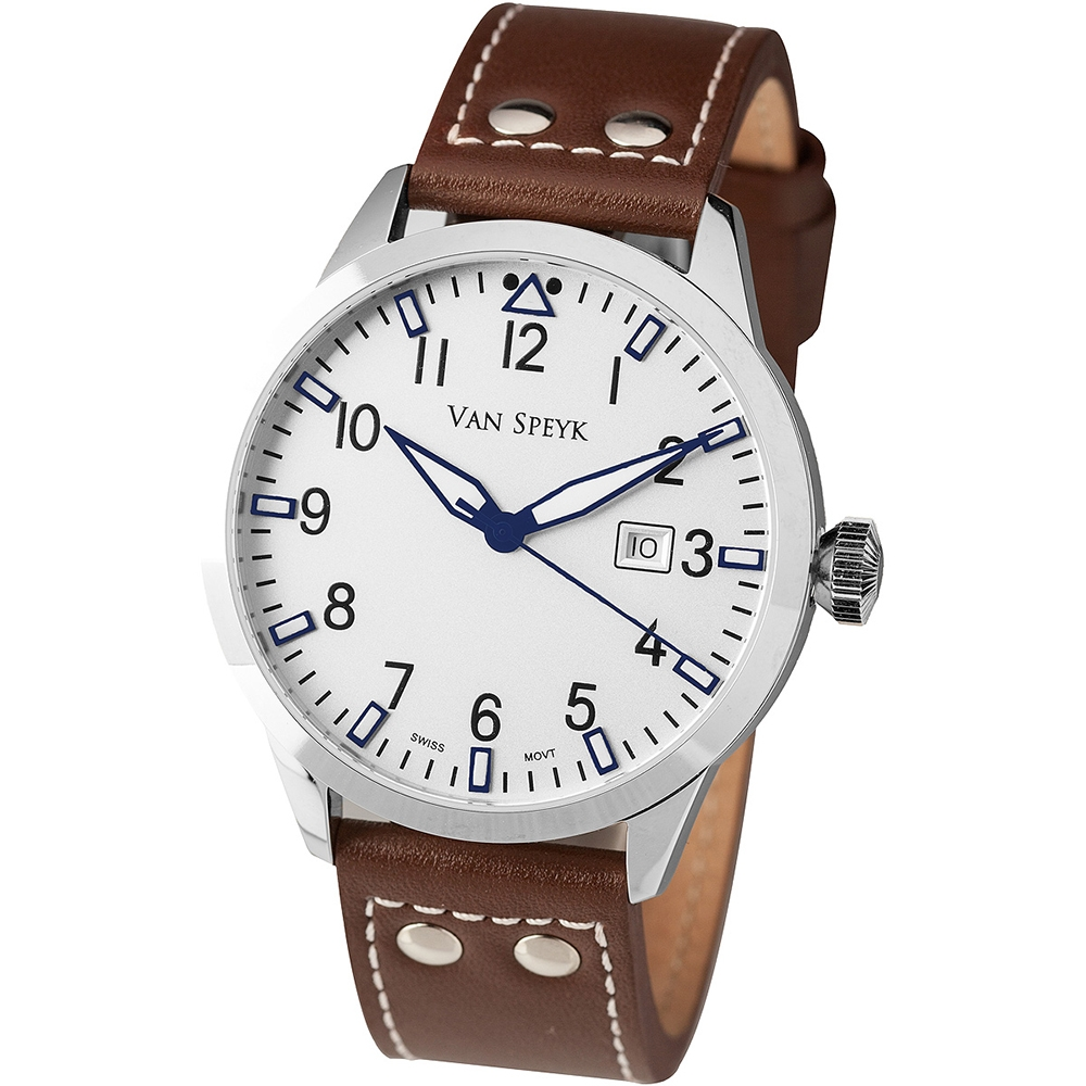 Van Speyk Dutch Pilot AW.13.BL Watch