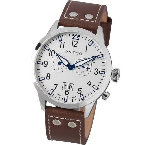 Van Speyk Dutch Pilot CW Watch