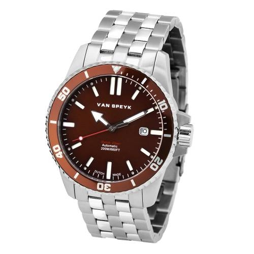 Van Speyk Brown Dutch Diver Watch