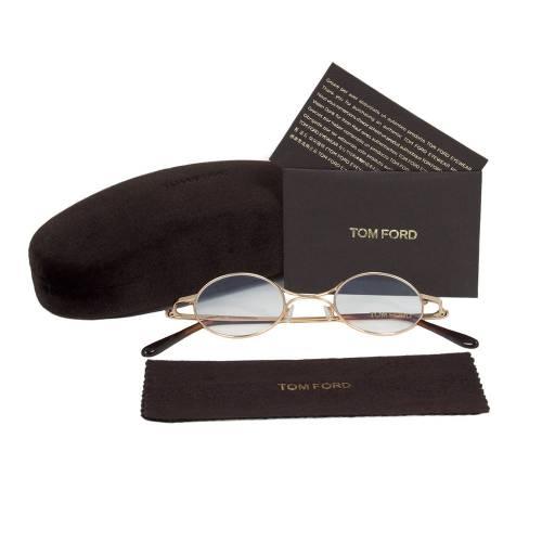 Gold Eyeglasses Frame | Size 40