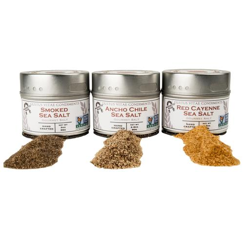 Gourmet Grilling Salts Collection | Set of 3