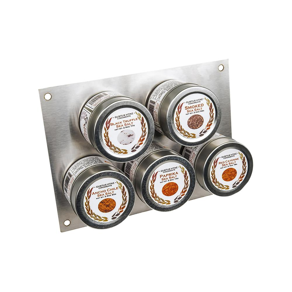 The Complete Gourmet Salts Gift Set   Set of 5