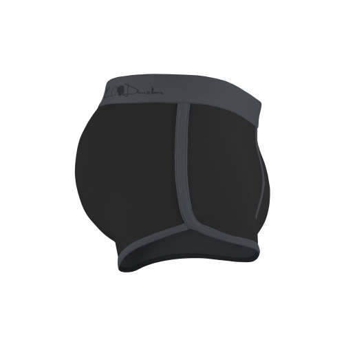 Kim Denzler 2-pack Boxer Briefs   Blue, Black/Grey