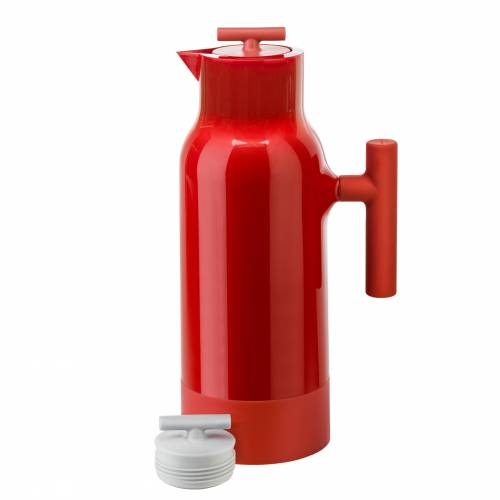 Red Accent Coffee Pot | Sagaform
