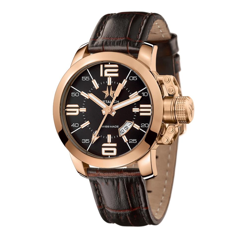 Metal CH Watch | Initial 1340