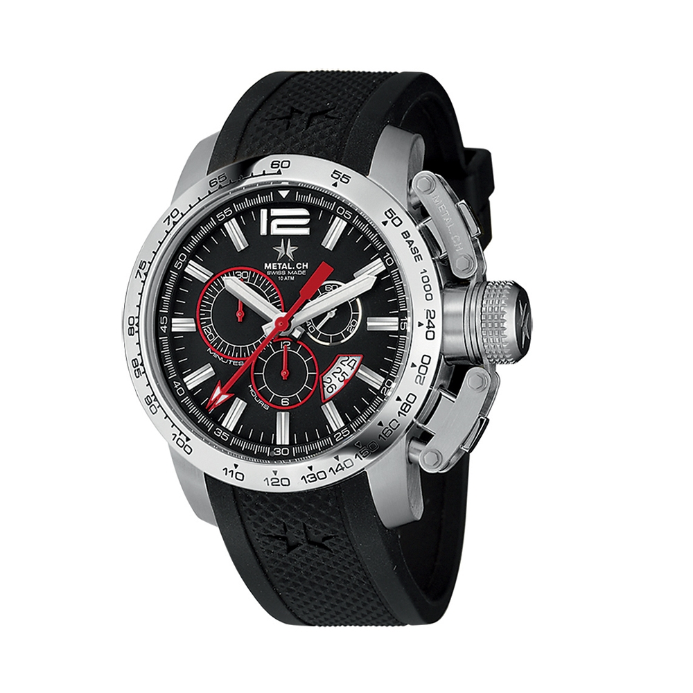 Metal CH Watch   Chronosport 4120