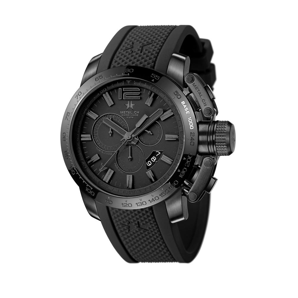 Metal CH Watch   Chronosport 4420
