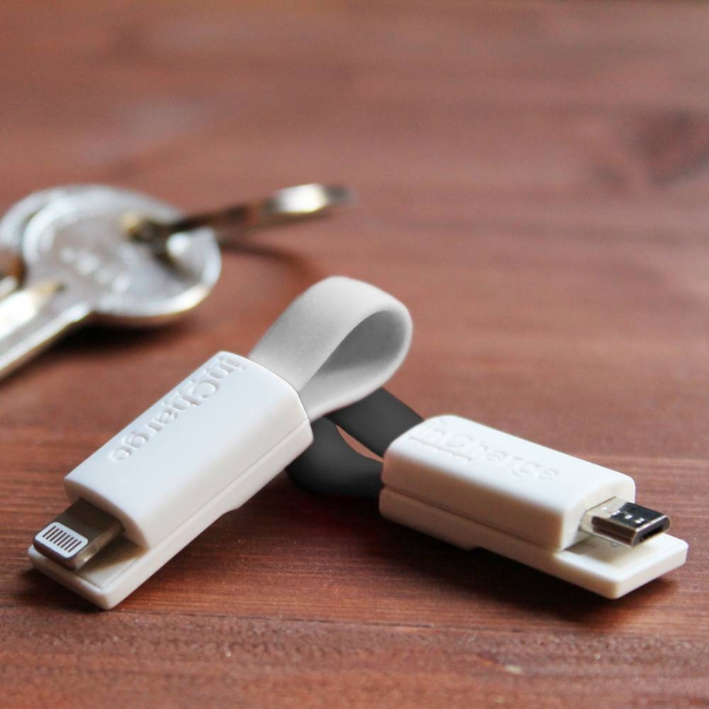 inCharge | Lightning + Micro USB 2-Pack