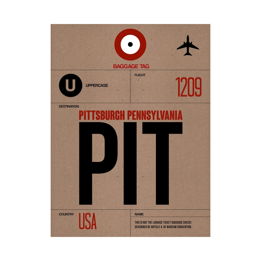 NaxArt | PIT Pittsburgh Poster