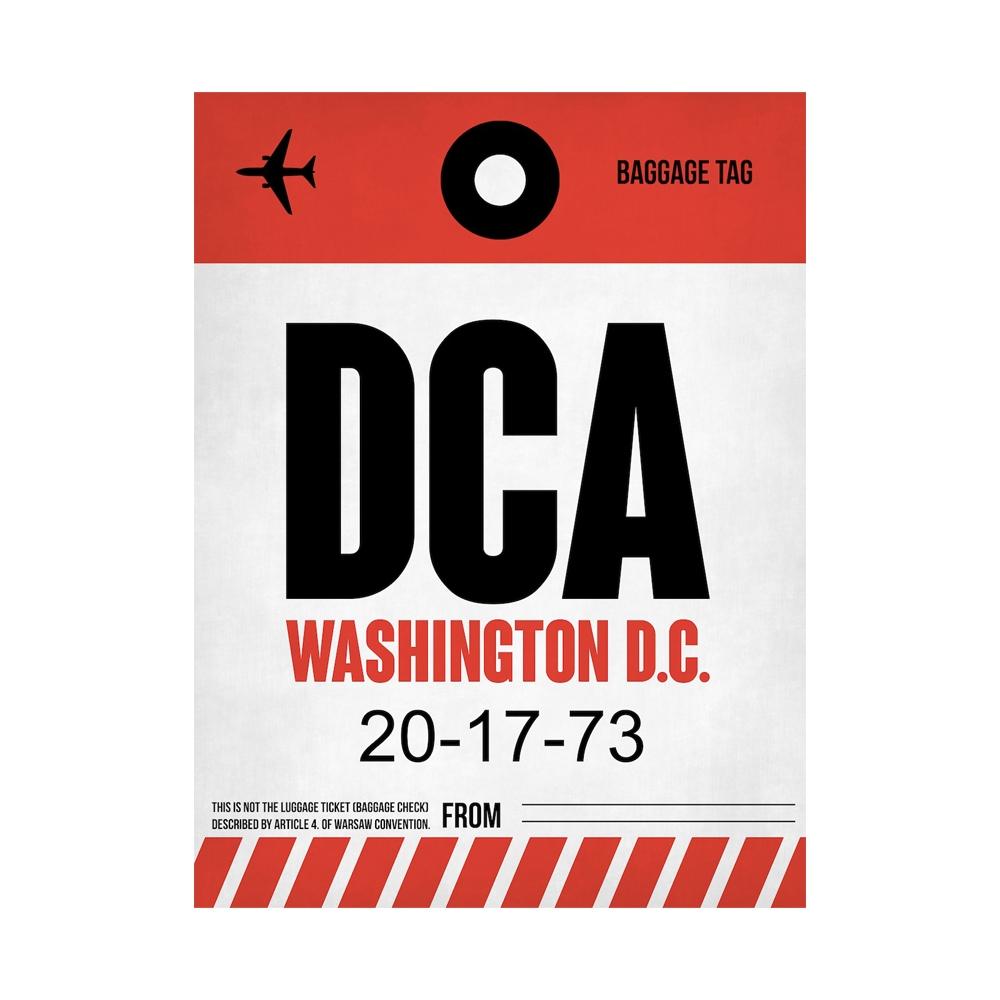 NaxArt   DCA Washington Poster
