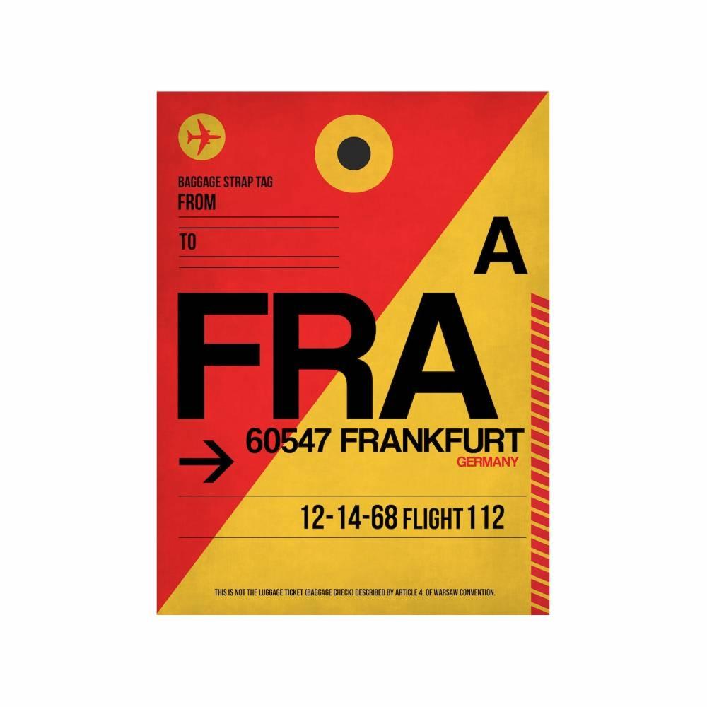 NaxArt   FRA Frankfurt Poster