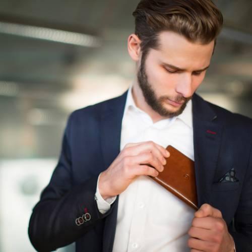 Dark Brown Leather iPhone 6 Wallet Case | Danny P