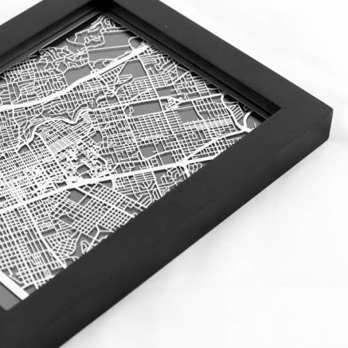 Austin | Cut Maps