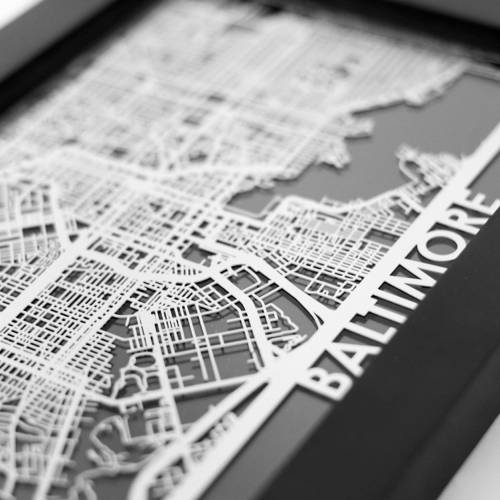 Baltimore | Cut Maps