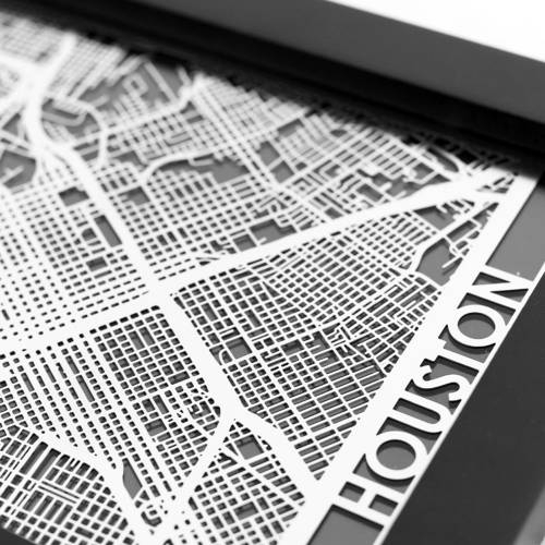 Houston | Cut Maps
