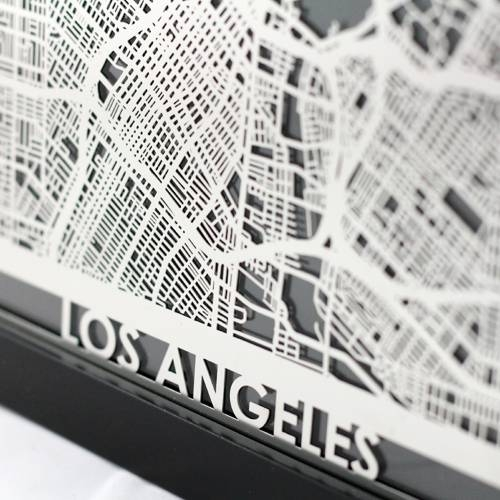 Los Angeles | Cut Maps