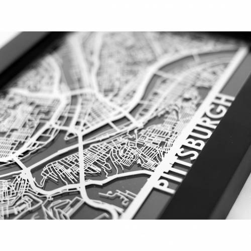Pittsburgh | Cut Maps