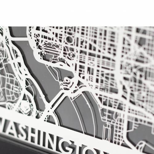 Washington DC   Cut Maps
