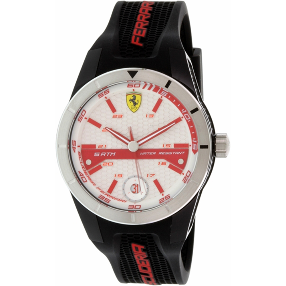 Ferrari Men's Red Rev Watch