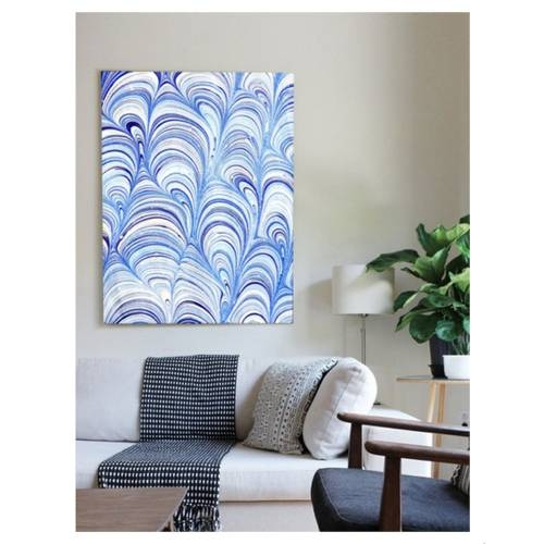 Rock Pools Canvas Print | Vivienne East