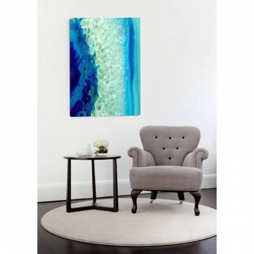 Blue Monday Canvas Print | Vivienne East