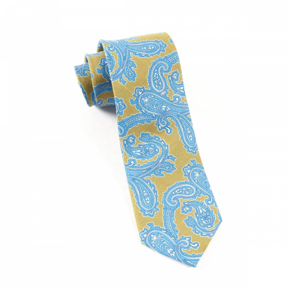 Linen Paisley | The Tie Bar