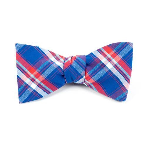 Sunset Plaid Bow Tie | The Tie Bar