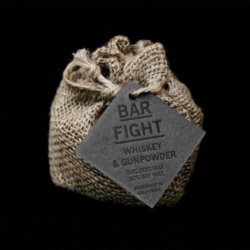 Bar Fight - Whiskey & Gunpowder | Wild Well Supply Candles