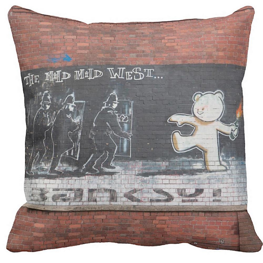 The Mild Mild West   Banksy Art   iLeesh