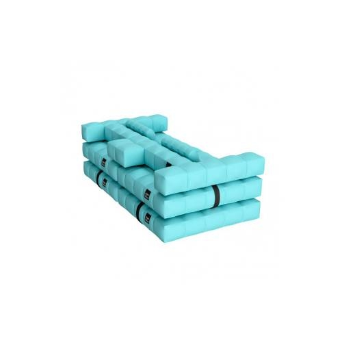 Sofa / Double Lounger Set   Aqua Blue   Pigro Felice