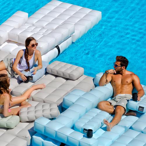 Sofa / Double Lounger Set | Olive Green | Pigro Felice