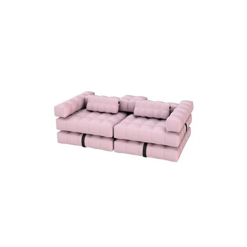 Sofa / Double Lounger Set | Rose Pink | Pigro Felice