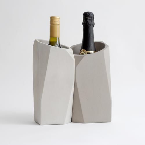 Corvi Concrete Champagne Cooler | IntoConcrete