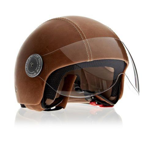 Leather Helmet | Vintage Havana