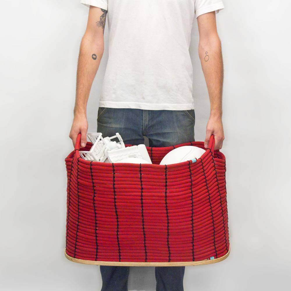 Rope Basket | 120 Foot Large | Climbing Rope | Tom Will Make