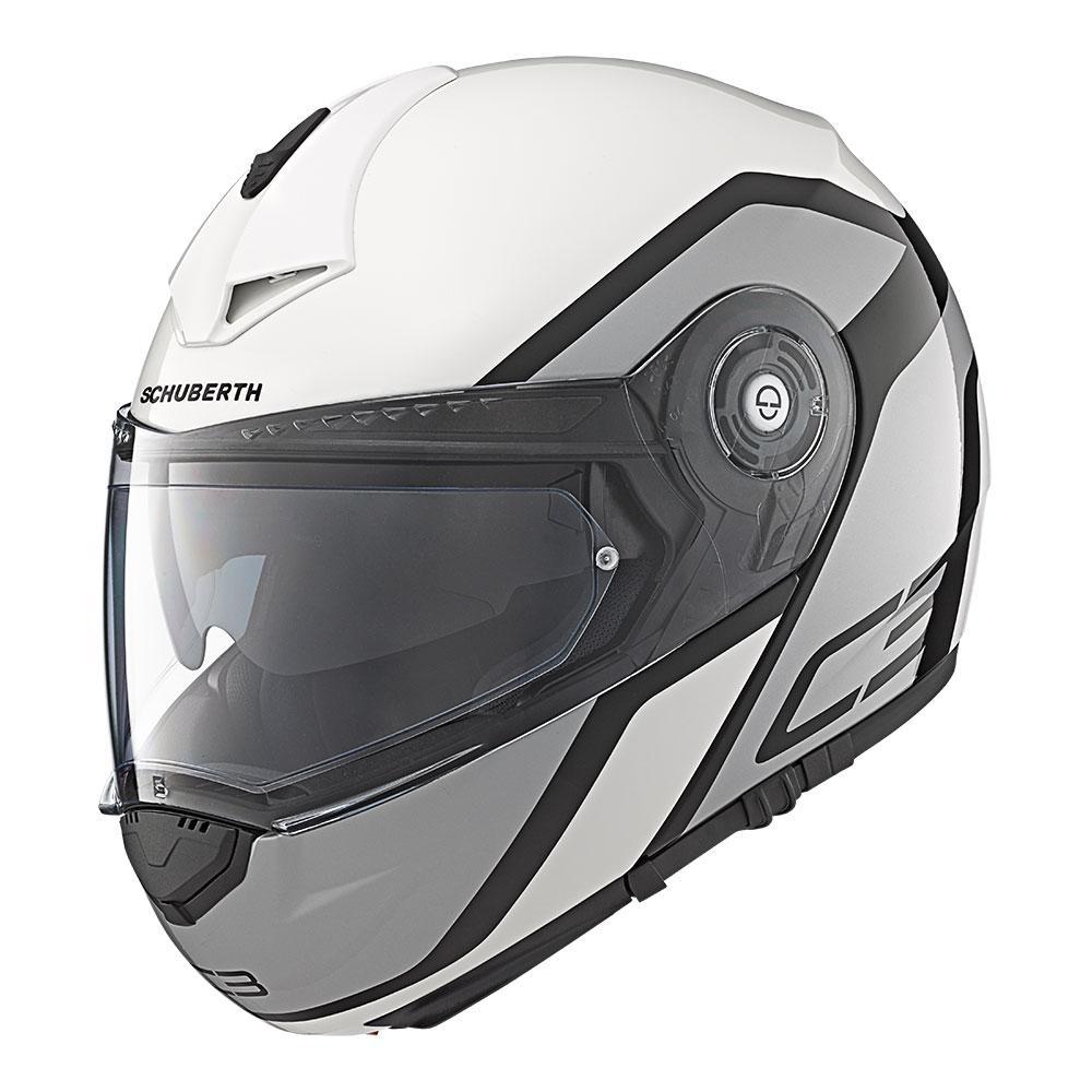 C3Pro   Observer White   Schuberth Helmets