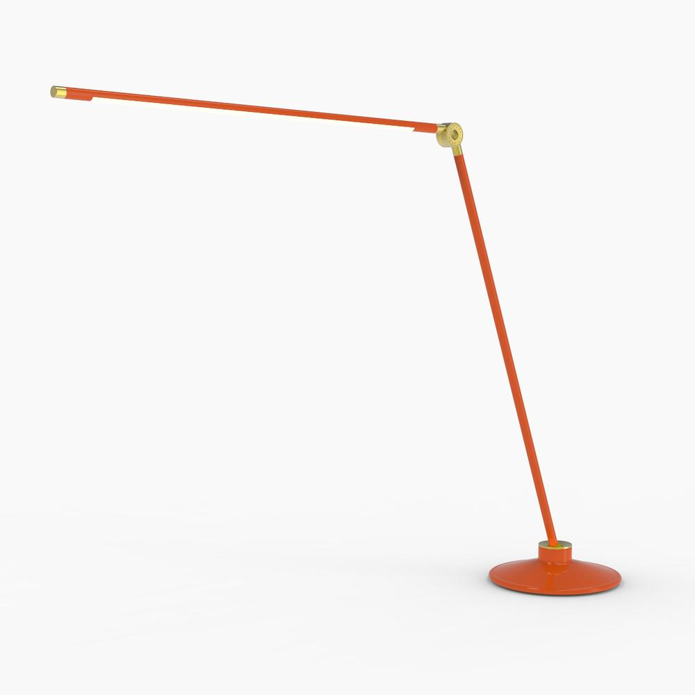 Thin T Desk Lamp | Orange | Juniper Design