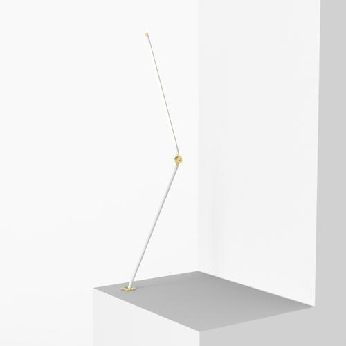 Thin T Desk Lamp | White | Juniper Design