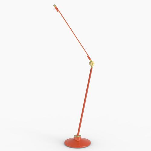 Thin S Desk Lamp | Orange | Juniper Design