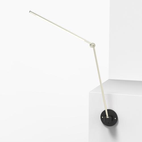 Thin S Desk Lamp | Silver | Juniper Design