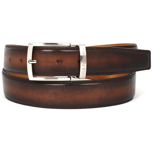 Men's Leather Belt | Brown & Camel