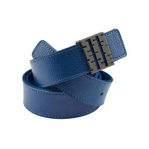 Leather Belt | Navy
