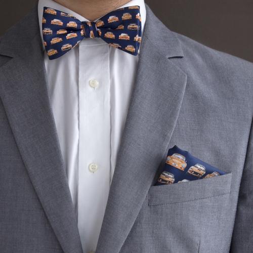 The Vintage Race   Handmade Silk Bow Tie   The OutlierMan