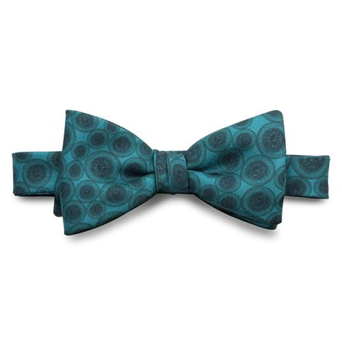 The World Beater | Silk Bow Tie | Teal