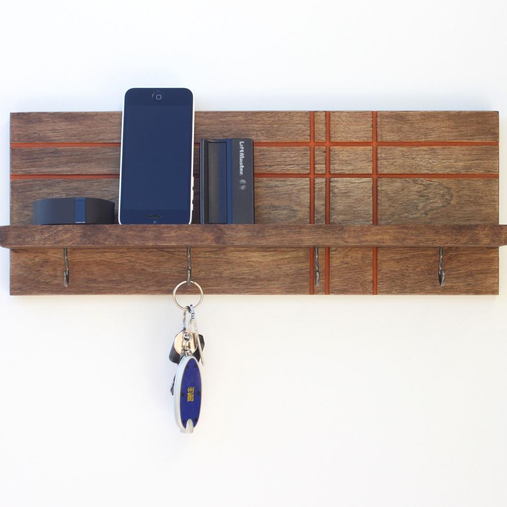 Key / Jewelry Organizer | Geo Modern | Wood Butcher Designs