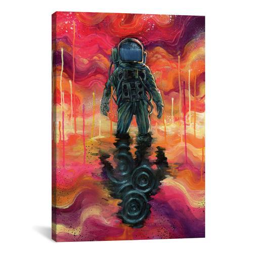 Spaceman Spliff by Black Ink Art Canvas Print