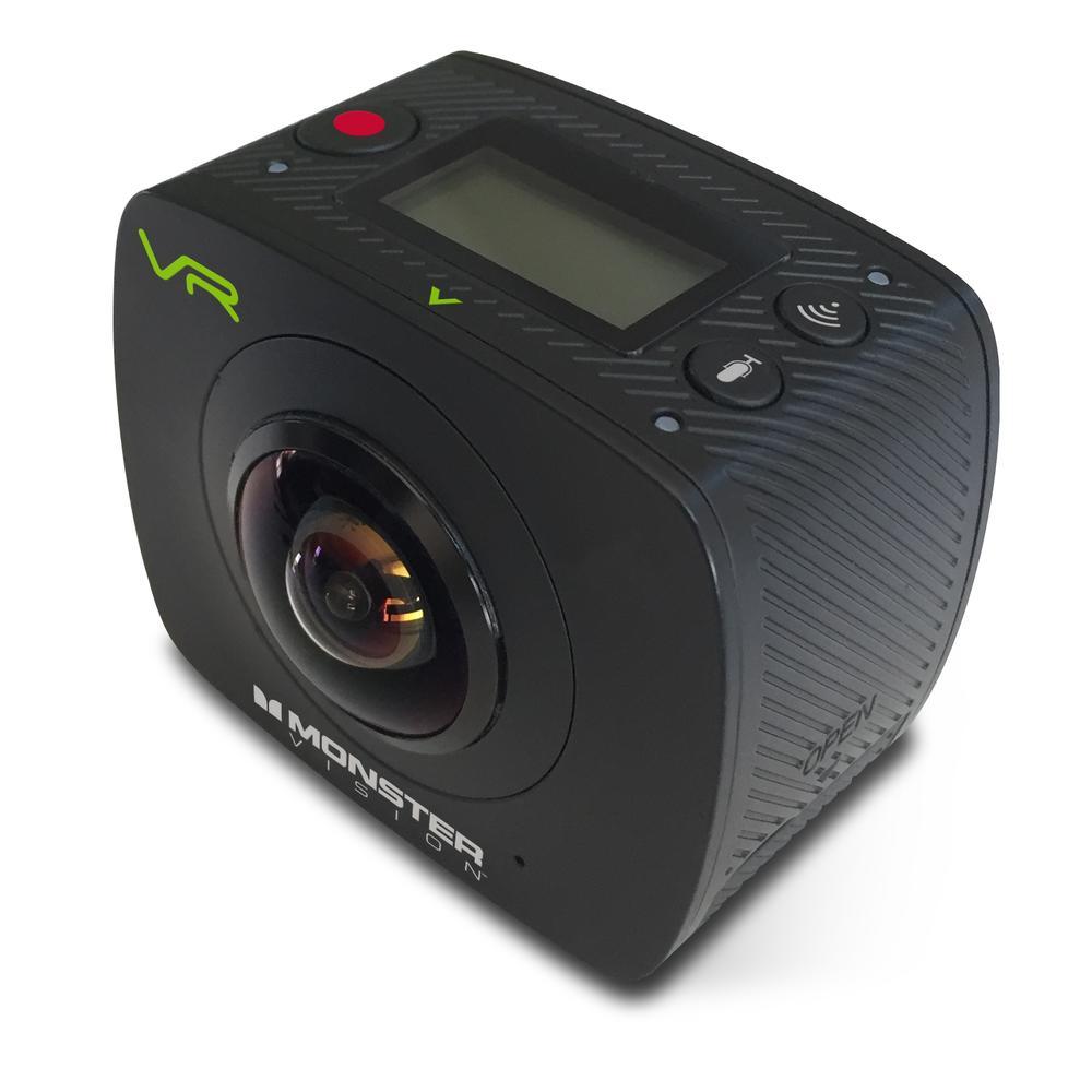 Action Sports Camera | Vision 360º VR | Monster Digital