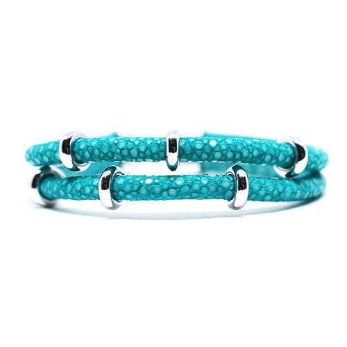 Bracelet | 2x Sting | Turquoise/Silver