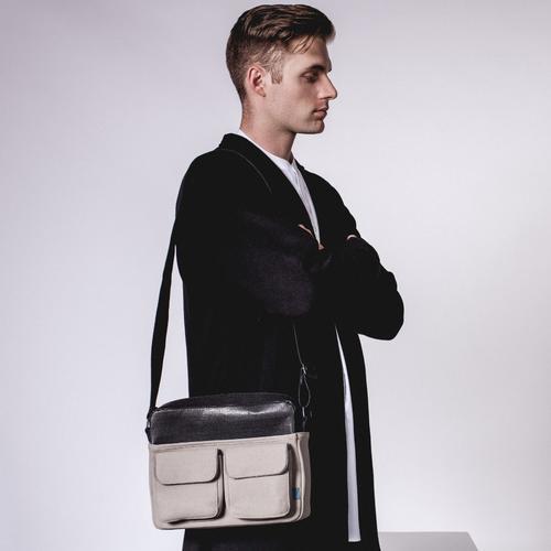 Frank Felt Studio Brief | Removable Media Pocket | MRKT Bags